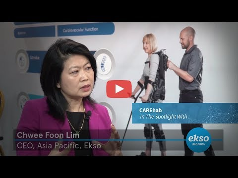 In The Spotlight With Ms. Lim Chwee Foon, CEO, Asia Pacific, Ekso Bionics