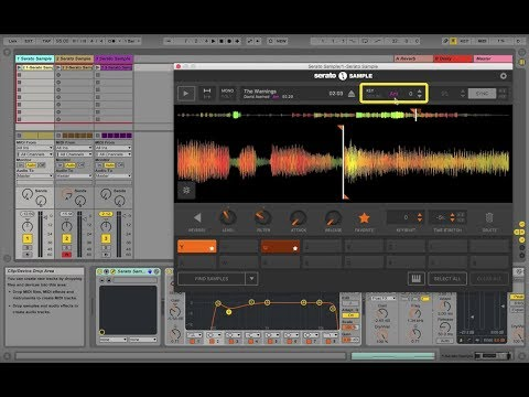 How to use Key detection and shifting in Serato Sample