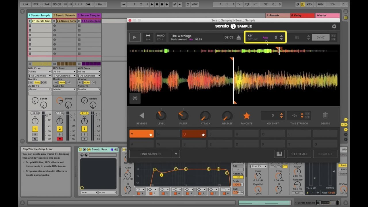 VIDEO] - How to use Key detection and shifting in Serato