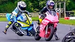 Minibikes: Epic Race! Cool FAB 2017 Rd 6, Part 2 MiniGP50