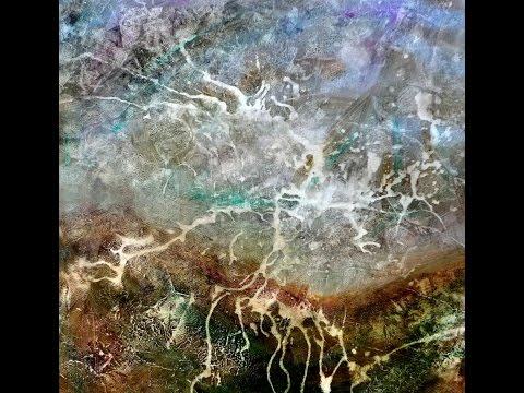 Abstract landscape /  lightning, Abstrakte Landschaft /  Blitz, 1