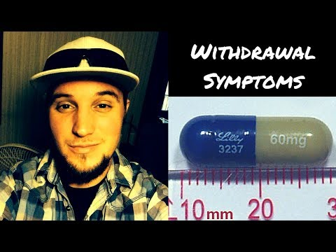 Duloxetine withdrawal request