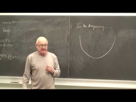 Genesis/The Structural Differential. Horowitz GS Lect 2-Sept 22, 2009
