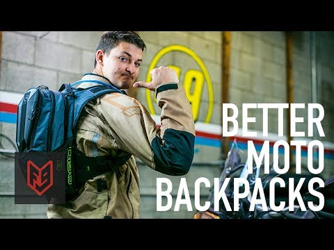 Better Motorcycle Backpacks for 2018