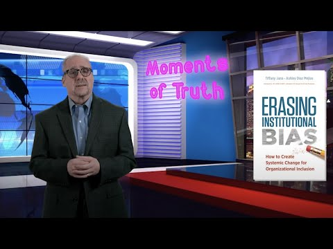 Moments of Truth - Episode 7 - Dr. Tiffany Jana and Elliot Haspel hosted by Ron Carucci