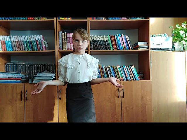 Изображение предпросмотра прочтения – ЕкатеринаКреймер читает произведение «Девочка и синичка» В.А.Сухомлинского