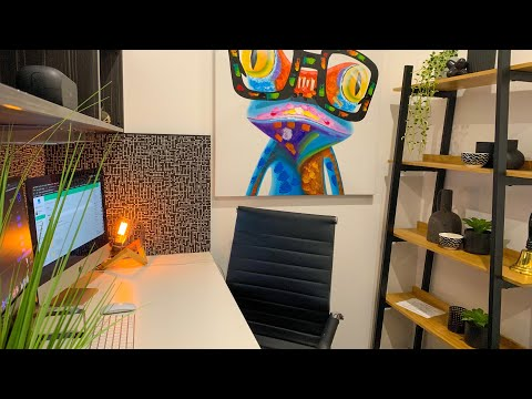 Office Desk Makeover - How to make it unique thumbnail