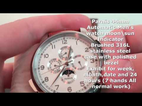Parnis watch
