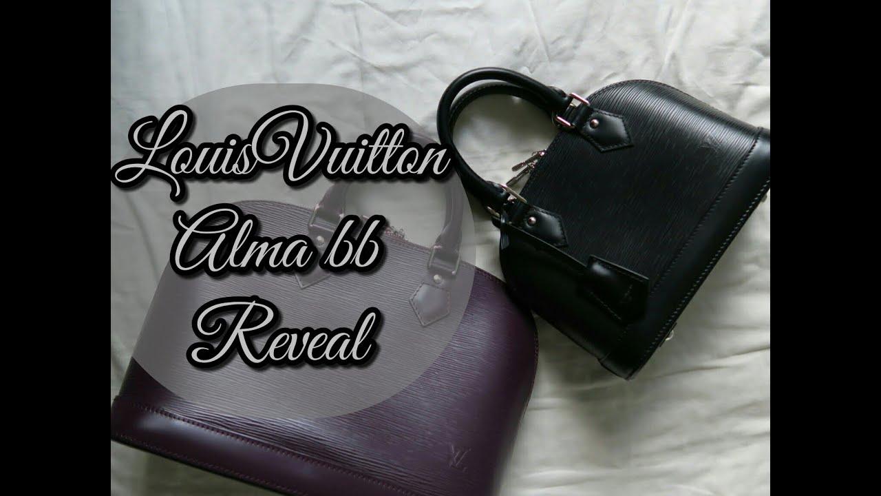 b9deda19e38 Louis Vuitton Alma BB Reveal & First Impression | FashionablyAmy