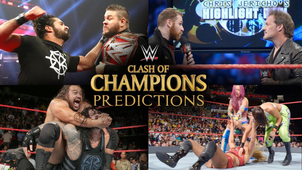 Download WWE Clash of Champions 2016 Full Match Card Predictions!
