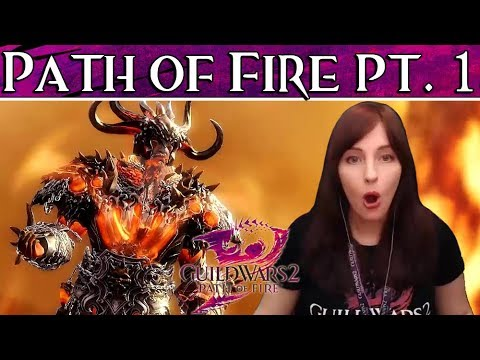 PEACHY REACTS | Guild Wars 2 Path of Fire Part 1