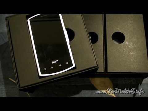 Acer Liquid e Android 2.1 - unboxing