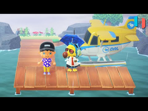 Animal Crossing: New Horizons Ingame / Gameplay (Ryujinx Custom Build) Part 9