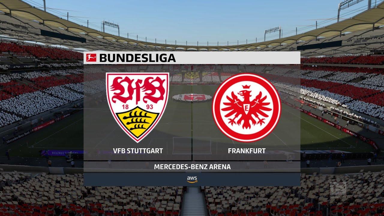 Fifa 21 Vfb Stuttgart Vs Frankfurt Germany Bundesliga 07 11 2020 1080p 60fps Youtube