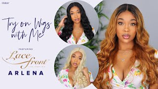 Dreamy Waves Synthetic Wig Haul Ft. Outre Lace Front Wig Arlena