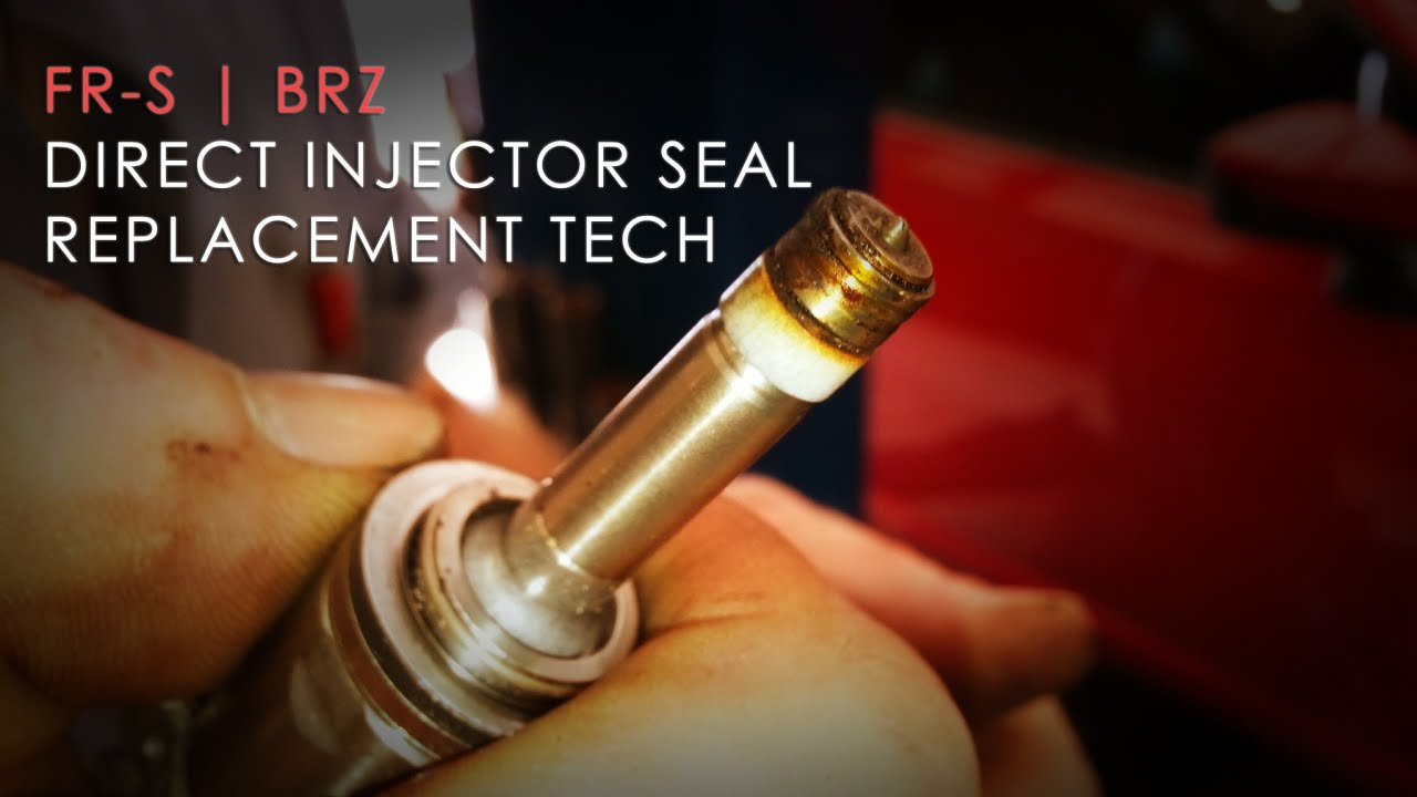 Scion Fr S Brz Direct Injector Seal Replacement