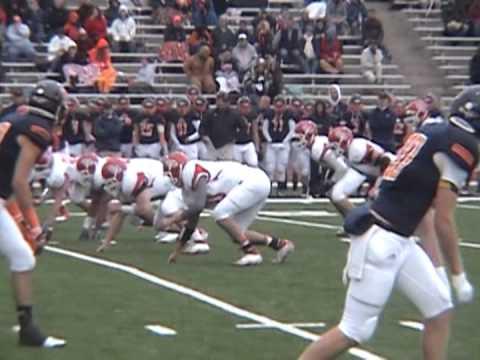 Olivet College Football 2012 Highlight Film