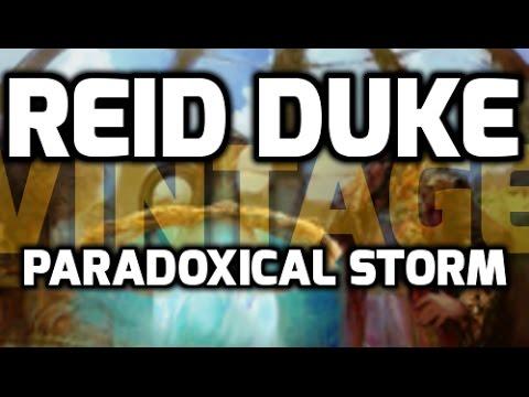 Channel Reid - Vintage Paradoxical Storm (Deck Tech & Match 1)