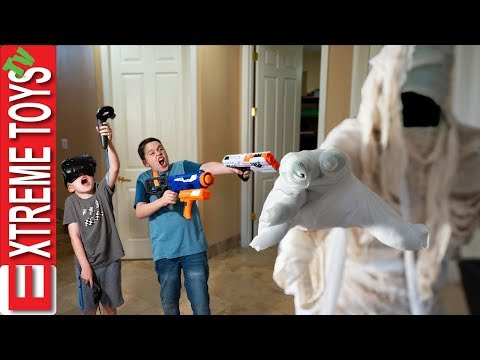 The Mummy Awakens! Ethan and Cole Battle the Ancient Beast!