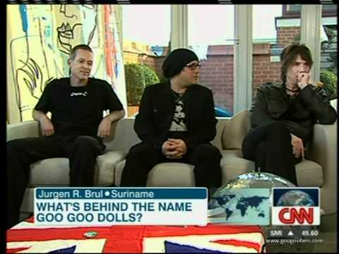 Goo Goo Dolls interview on CNN Connect The World (08-12-2010)