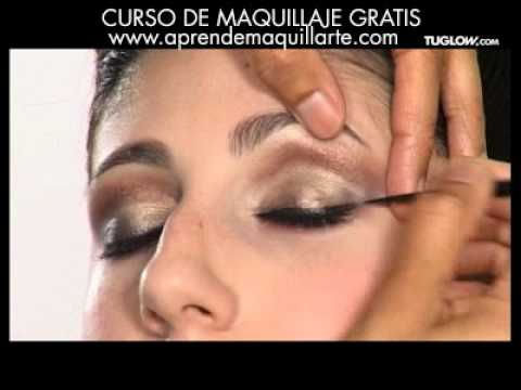 videos de maquillaje de ojos paso a paso en español