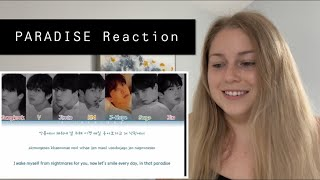 """First Time Reaction to """"Paradise"""" by BTS!"""
