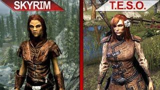 SBS Comparison | Skyrim (SE) vs. The Elder Scrolls Online | ULTRA | PC