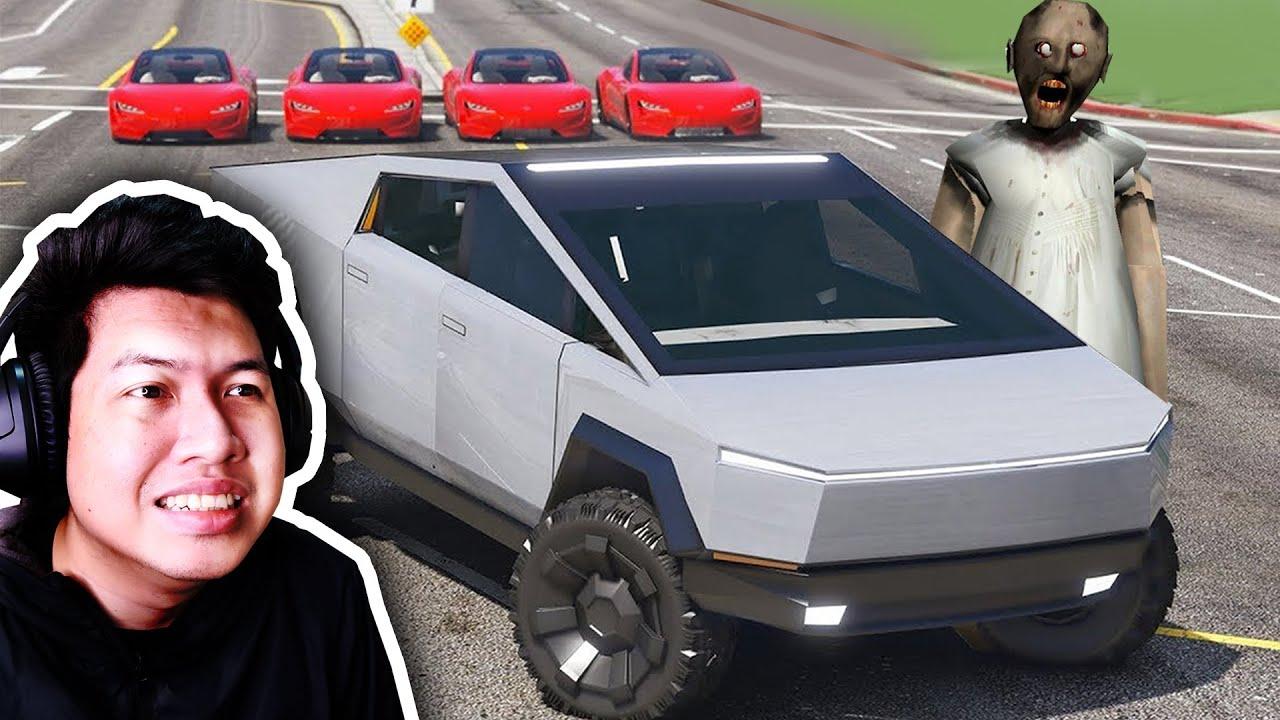 รถคันใหม่ของคุณยายแกรนนี่ Tesla CyberTruck