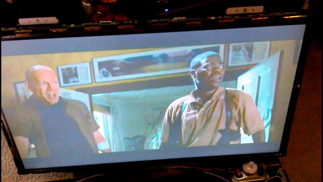 How to fix your LCD TV (Half Screen Black)