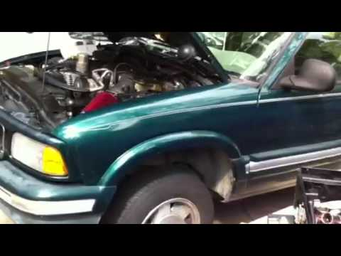 Tune up on GMC Jimmy  HB update - YouTube