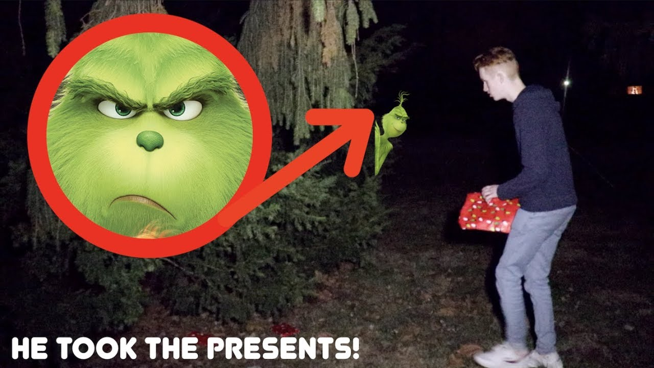 Download THE GRINCH STOLE OUR CHRISTMAS PRESENTS! *He Was In Our House!*