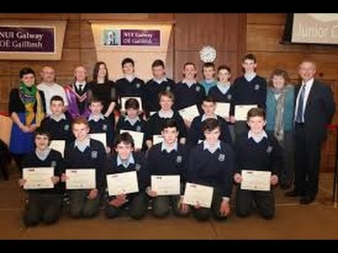 NUI Galway/BSTAI Junior Cert Business Studies Awards Ceremony