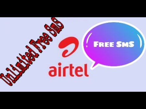 How to get unlimited free sms in Airtel Sim Card
