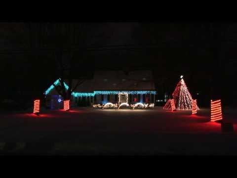 Colbert Report Theme Christmas Light Show (Light-O-Rama)