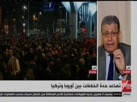 Turkey-Netherlands crisis, commentary, Arabic, CBC EXTRA, 11/3/2017