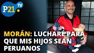 RICARDO MORÁN: LUCHARÉ PARA QUE MIS HIJOS SEAN NACIONALIZA...