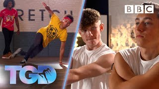 Dance double acts WOW the captains - The Greatest Dancer   Auditions
