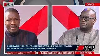 Grace Khalifa Sall: débat très houleux entre Pape Djibril Fall et Me El Hadj Diouf