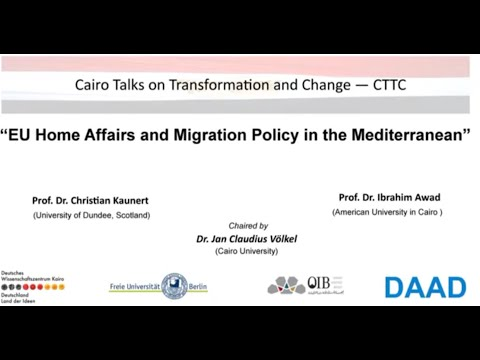 "CTTC, title ""EU Home Affairs and Migration Policy in the Mediterranean"""