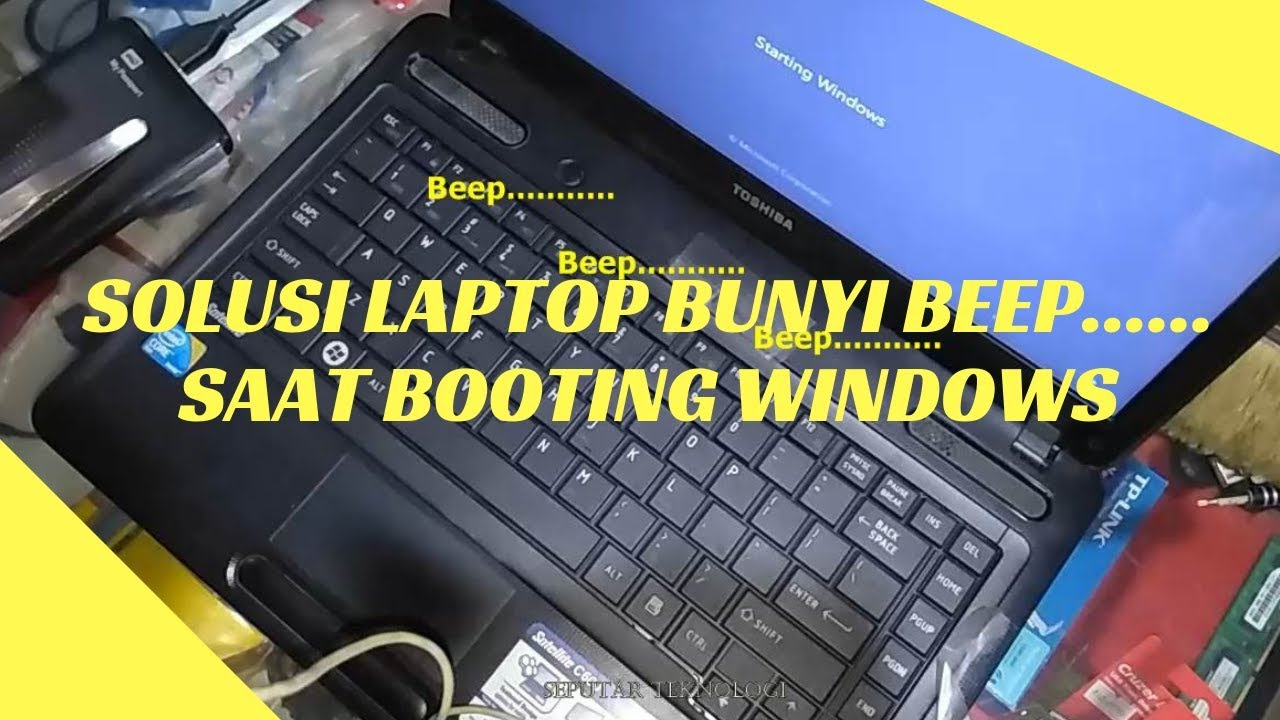 Solusi Laptop Bunyi Beep Saat Booting - YouTube