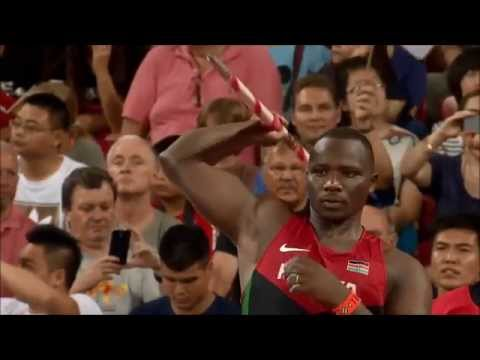 Julius Yego winner 92.72m WL Men's Javelin Final | IAAF World Athletics Championships BEIJING 2015
