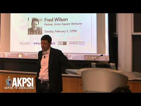 """Fred Wilson - """"On Being A Contrarian"""" (5/7)"""