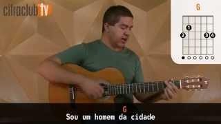 O Granfino  e o Caipira - Victor e Leo (aula de violão simplificada)