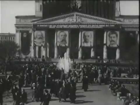 1953_0501 Празднование 1 мая 1953 года в Москве