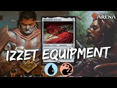Izzet Equipment Cascade [MTG Arena] | Red-Blue Legendary Equipment Deck in GRN Standard