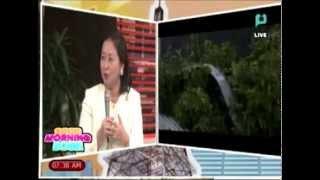 Panayam kay Rep. Josephine Sato ukol sa naging paghahanda ng Occidental Mindoro sa bagyong Ruby
