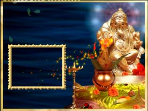 Ganesh Free Professional Looking After Effects Video Background
