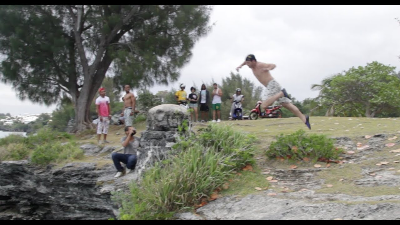 Funny Video: Daredevil Jumps Too Early and Gets Destroyed By Rock