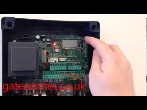Programming A Bft Mitto 2 Amp 4 To A Control Board Youtube