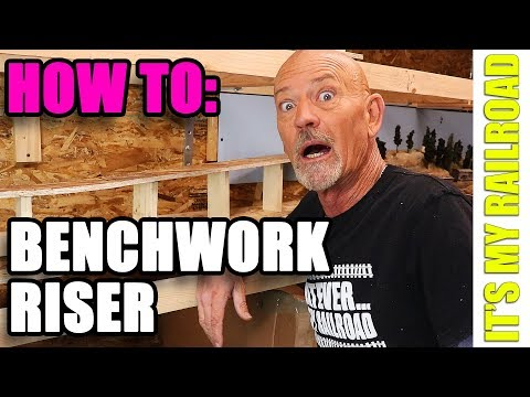 051: How To: Multi Deck Riser On Model Railroad Layout